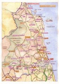 northumberland map 2