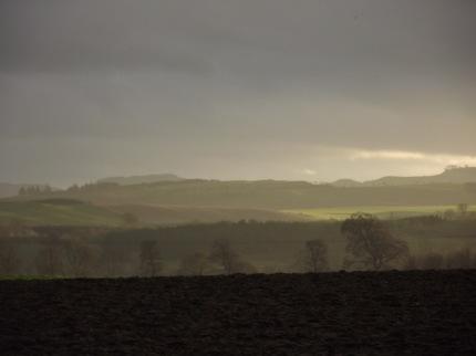 Light over Hills 1