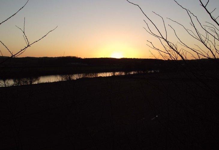 last sight of the sun