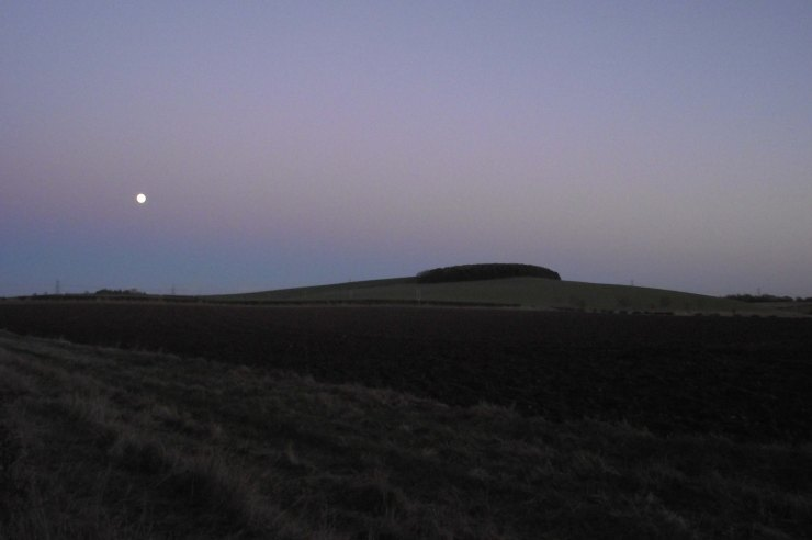 Little Hill and Moon
