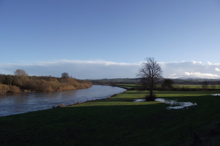 January by the Tweed