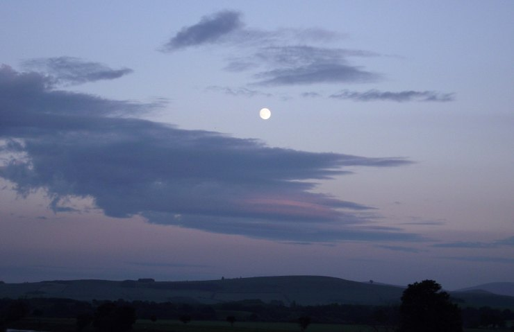 Moon Over Cheviots
