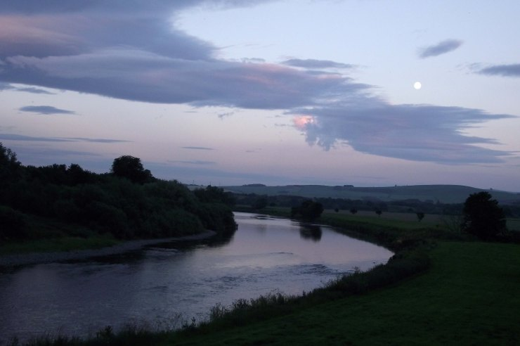 Moon Over Tweed