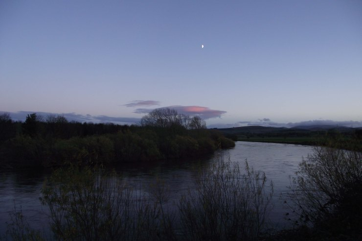 November Moon, Tweed River, Pink Cloud