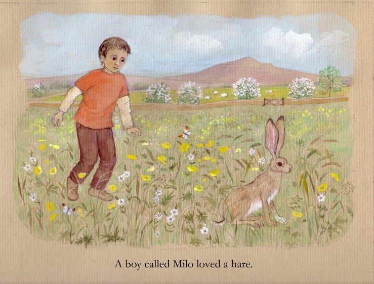 A boy called Milo