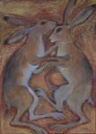 jousting-hares